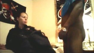 Female Police Officer In Uniform Fucks Her Black BF