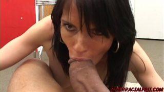 Jennifer Dark brings on the nasty with one hung brotha