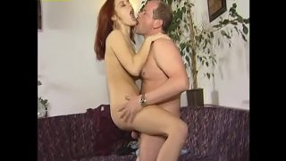 Older guy fuck hot young pussy hard