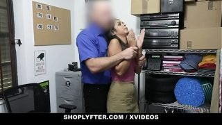 ShopLyfter – Nervous Latina Caught Stealing Is Forced To Fuck