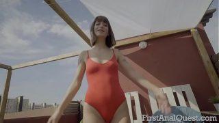 Tattooed Italian hottie Silvia Sopranos first anal sex scene.